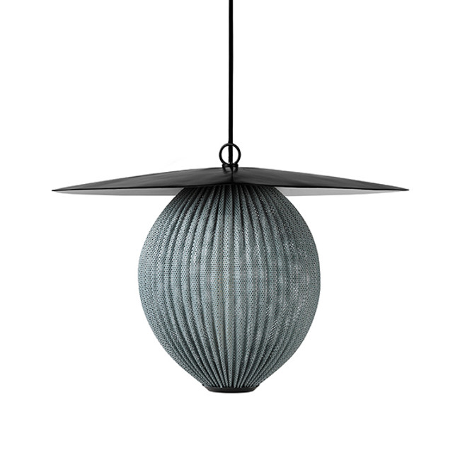 Gubi Satellite Pendant Medium in rainy grey
