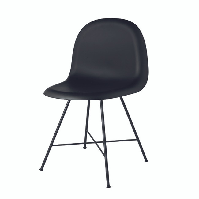 Gubi 1F Chair in black