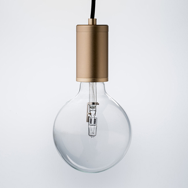Luxello Pure Pendant Brass with Black Cord