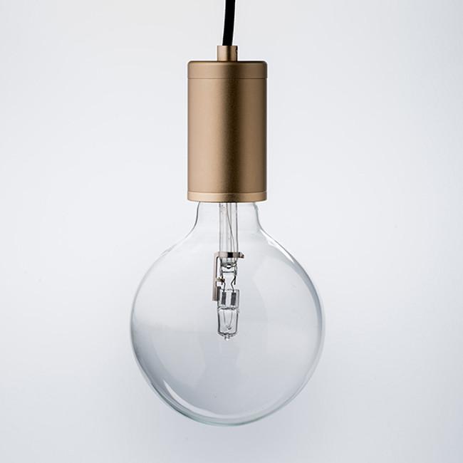 Luxello  |  Pure Pendant Brass With Black Cord