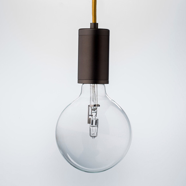 Luxello Pure Pendant Bronze with Yellow Cord
