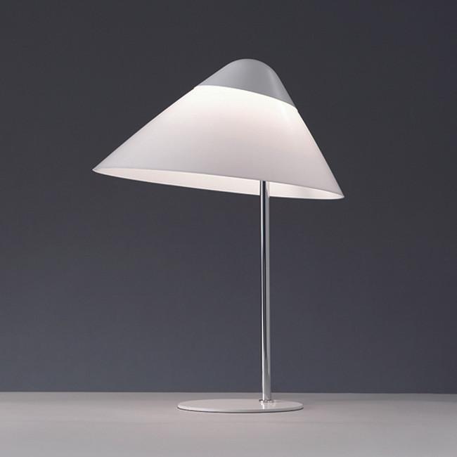 Hans J. Wegner, Opala Midi Table Lamp in white
