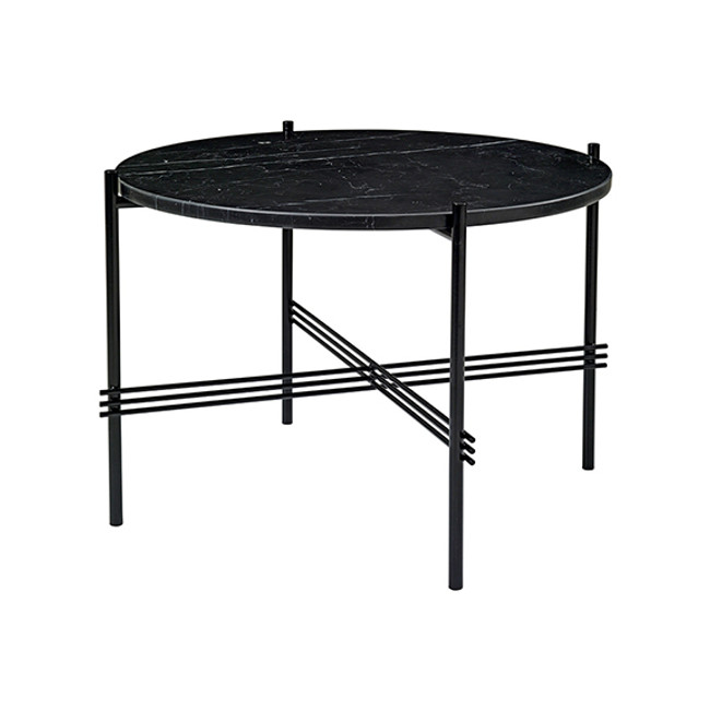Gubi TS Table Medium in Black marble