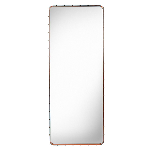 Gubi Adnet Rectangulaire Mirror L in Tan