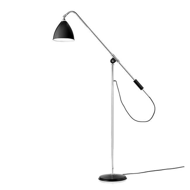 Gubi Bestlite Floor Lamp BL4 in black/chrome