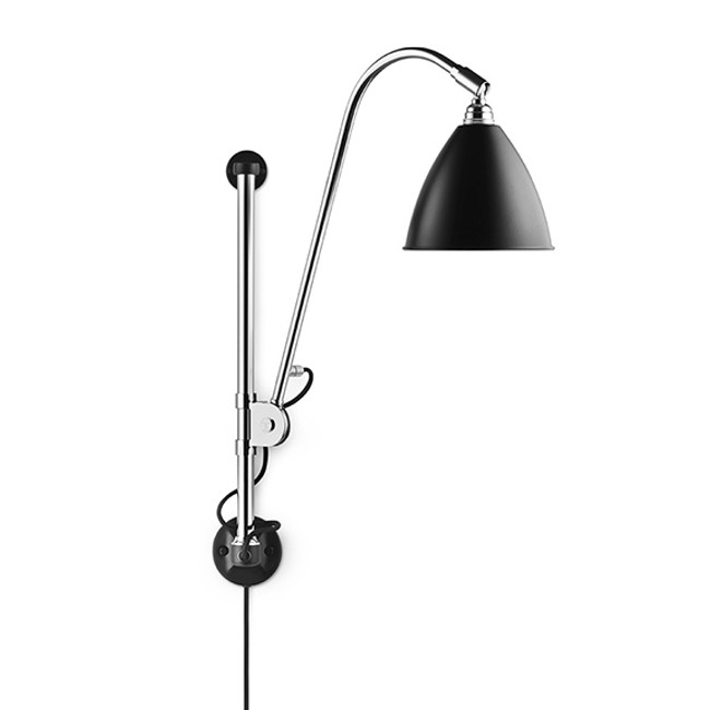 Gubi Bestlite Wall Lamp BL5 in black/chrome