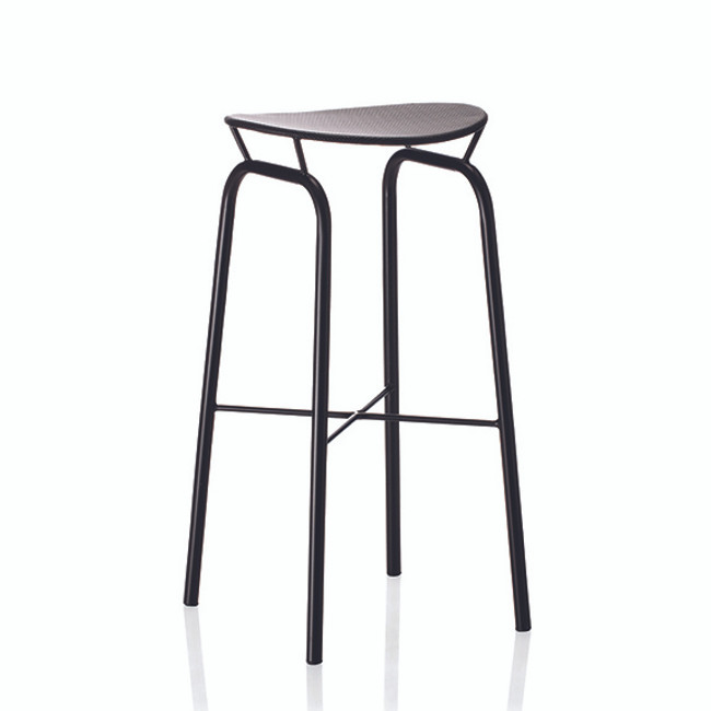 Gubi Mategot Nagasaki Stool in Black