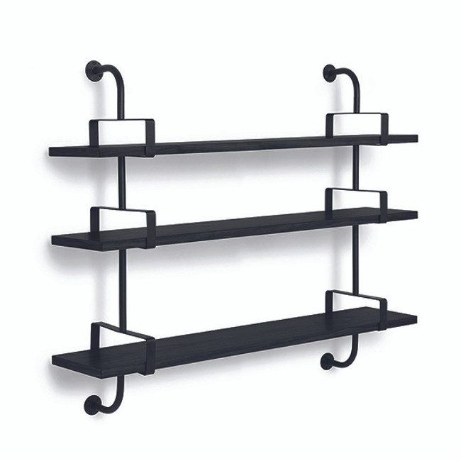 Gubi Mategot Demon Rack Stringer 3 Shelf 155cm