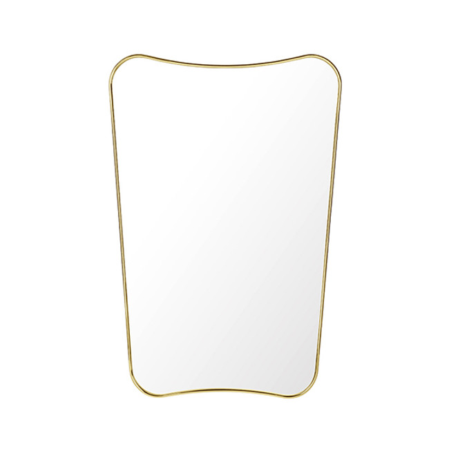 Gubi F.A.33 Rectangular Wall Mirror Medium
