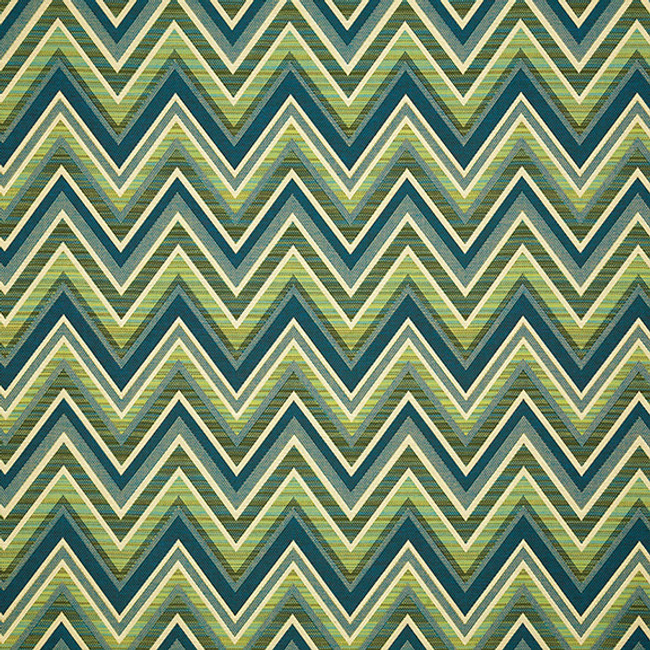 The Sunbrella Jacquards Fischer Woodland fabric offers an excellent mix of green and blue/green with white accents.