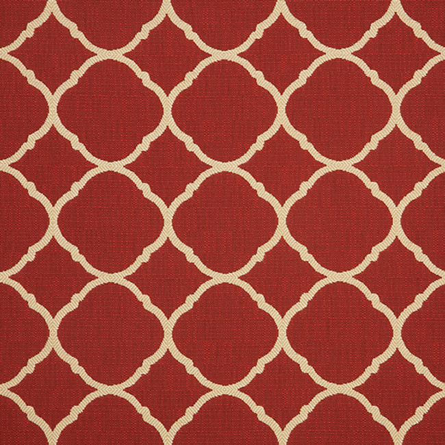The Sunbrella Accord Maroon fabric offers an ideal blend of red and gold