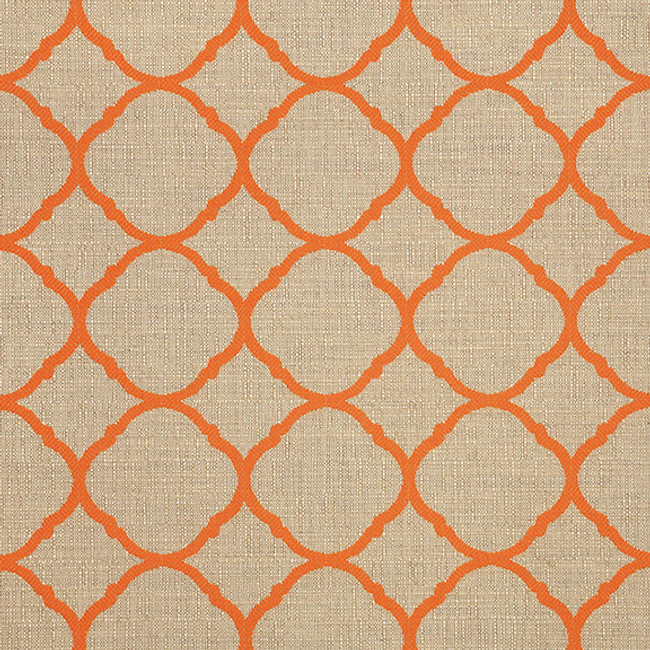 The Sunbrella Accord Jaffa fabric offers a perfect mixture of beige and orange/rust.