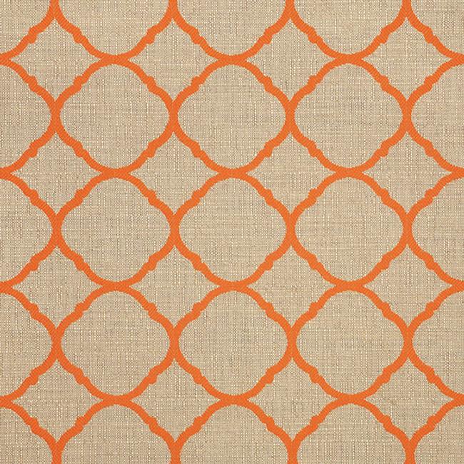 The Sunbrella Accord Jaffa fabric offers a perfect mixture of beige and orange/rust.