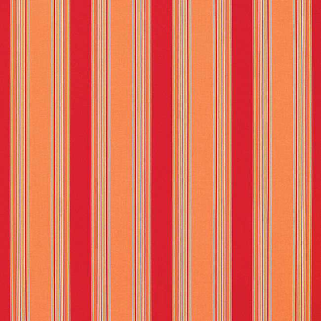 The Sunbrella Bravada Pepper fabric offers an ideal combination of red and orange/rust with brown accents.