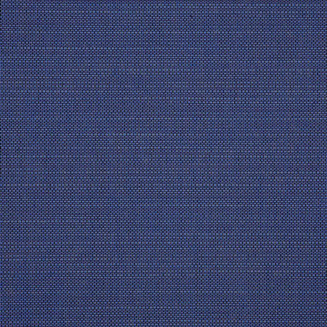 The Sunbrella Echo Deep Sea fabric boasts a beautiful shade of blue