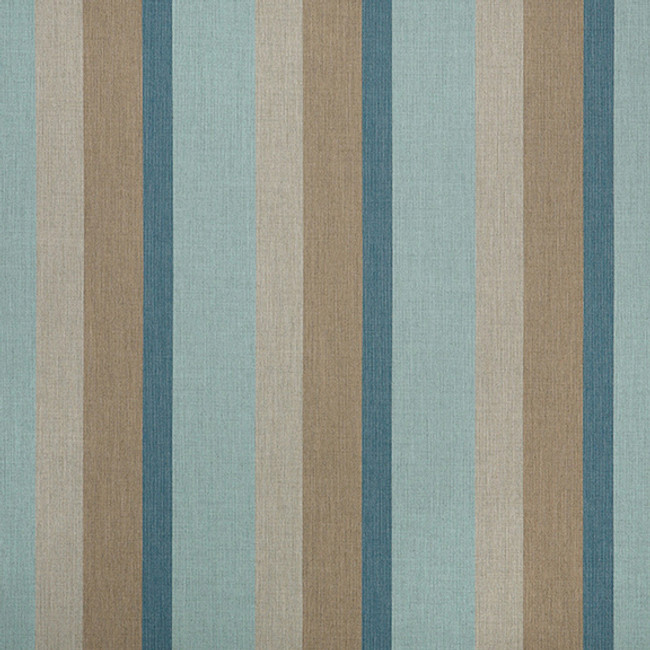 The Sunbrella Gateway Lagoon fabric offers a perfect mixture of blue and beige with grey accents