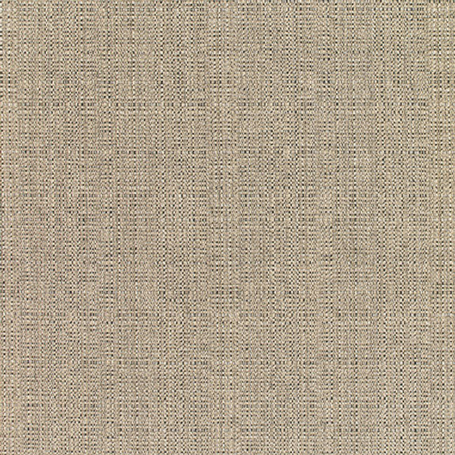 The Sunbrella Linen Smoke fabric boasts a gorgeous shade of grey