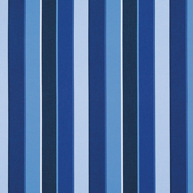The Sunbrella Milano Blues fabric comes in a beautiful shade of blue