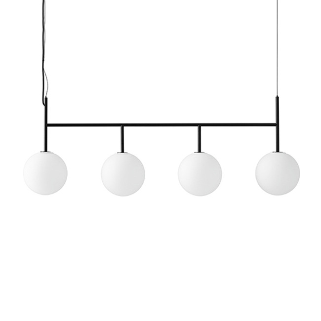 TR Bulb, Suspension Frame Black in matt opal