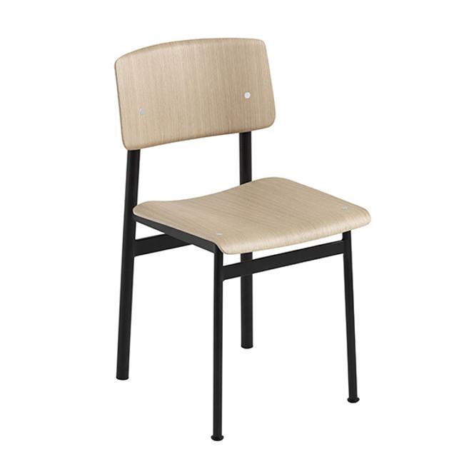Muuto Loft Chair in  Black / Oak