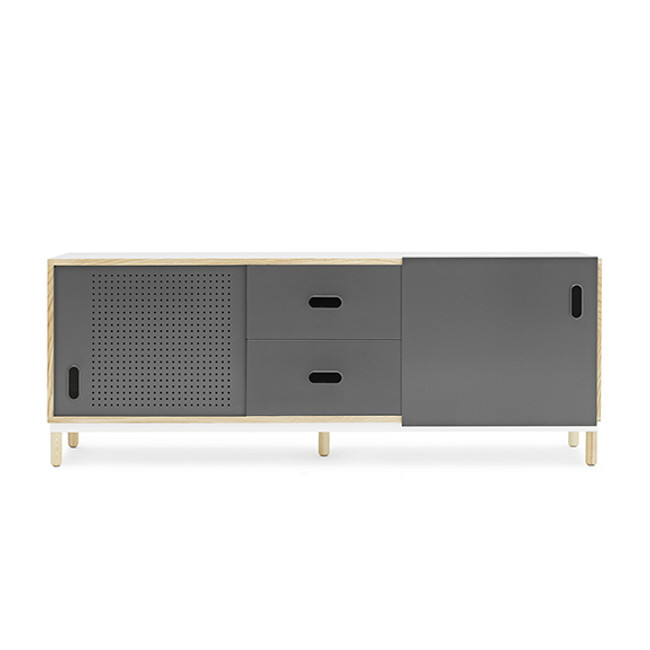 Normann Copenhagen Kabino Sideboard with Drawers in Grey
