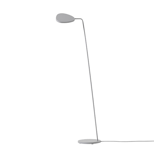 Muuto Leaf Floor Lamp in Grey