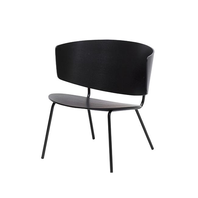 Ferm Living Herman Lounge Chair Black