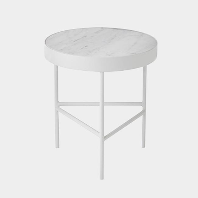 Ferm Living Marble Table White Medium