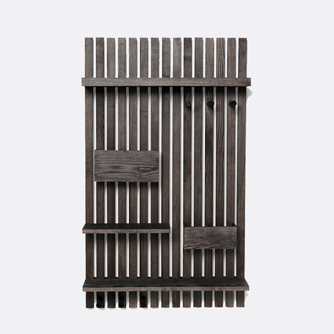 Ferm Living | Wooden Multi Shelf Stained Black