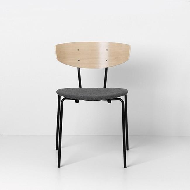 Ferm Living Herman Chair Upholstered Oak/Light Grey