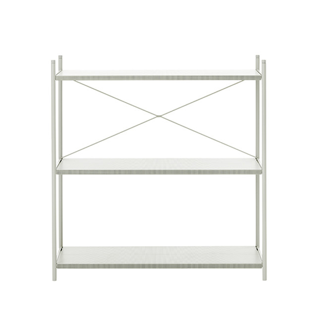 Ferm Living Punctual Shelving System 1x3 in grey