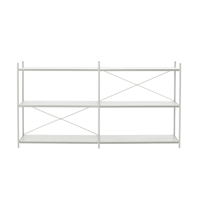 Ferm Living Punctual Shelving System 2x3 in Grey