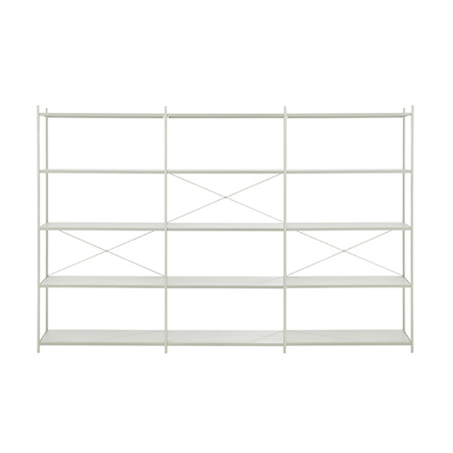 Ferm Living | Punctual Shelving System 3x5 in Grey