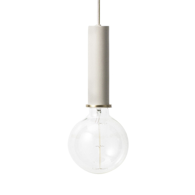 Ferm Living Socket Pendant High in light grey