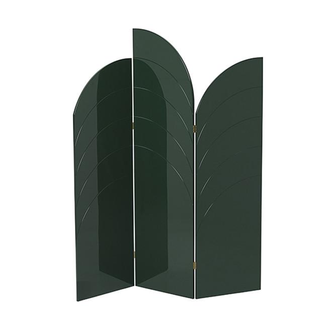 Ferm Living Unfold Room Divider Dark Green