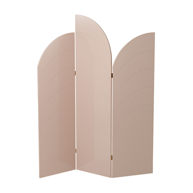 Ferm Living Unfold Room Divider Rose
