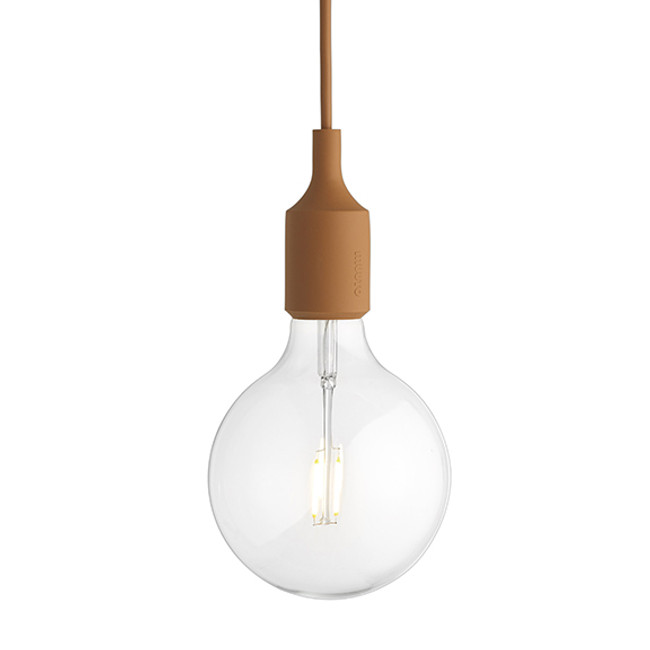 Muuto E27 Pendant in Clay Brown