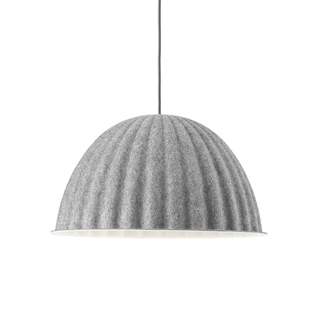 Muuto Under the Bell Pendant Mini Grey