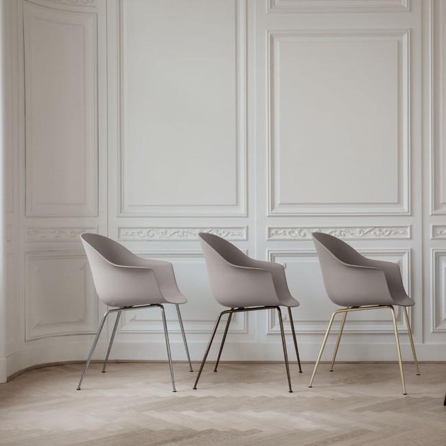 Gubi Bat Dining Chair Conic Base