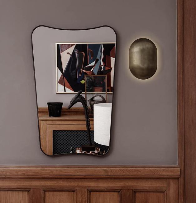 Gubi  F.A.33 Rectangular Wall Mirror