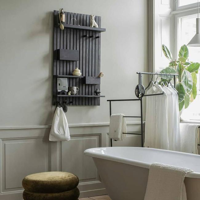 Ferm Living  Wooden Multi Shelf Stained Black