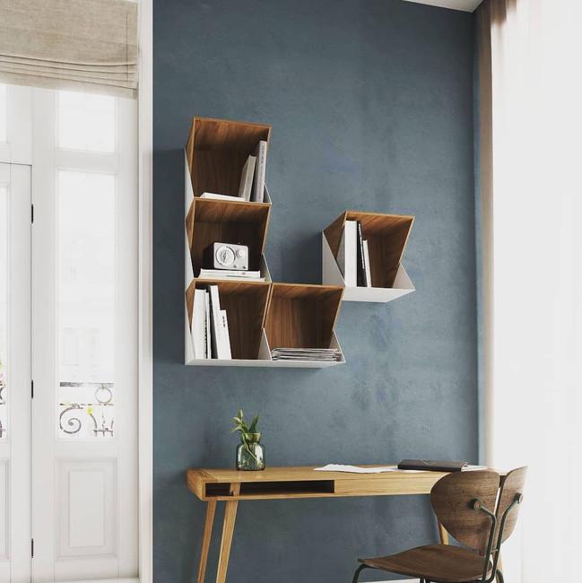 Nordic Tales Flip Shelf Walnut