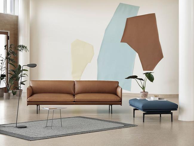 Muuto  Outline Sofa Leather