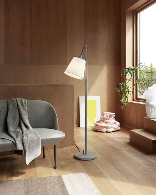 Muuto Pull Floor Lamp Grey