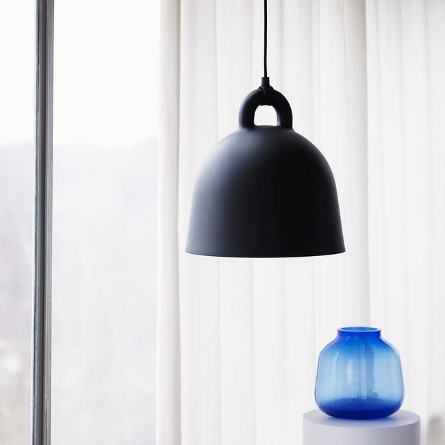 Normann Copenhagen  Bell Lamp Black
