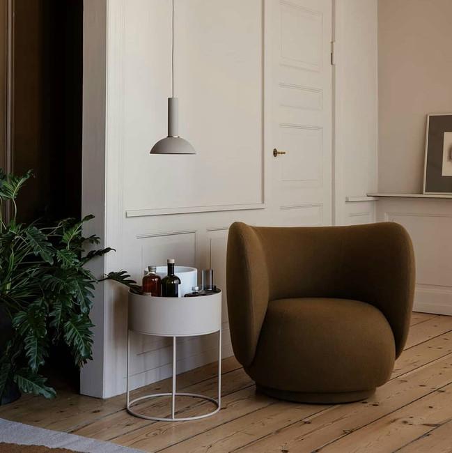 Ferm Living Rico Lounge Chair Bouclé