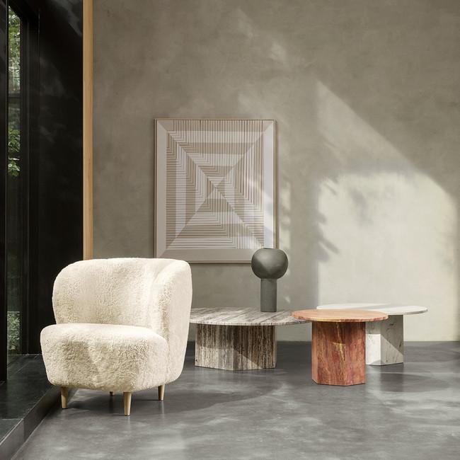 Gubi Stay Lounge Chair Woodbase