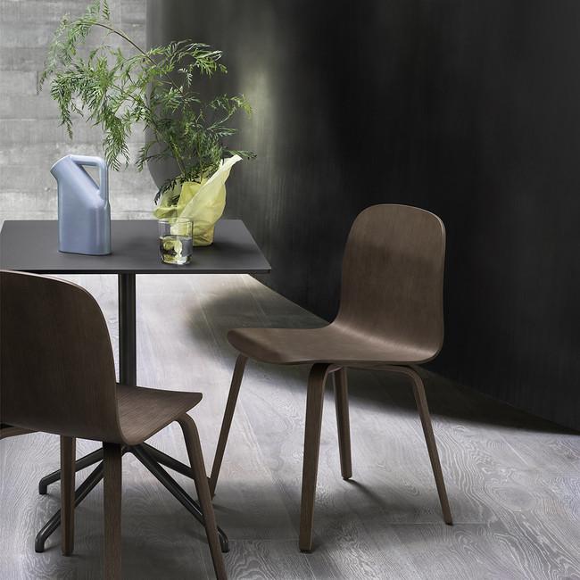 Muuto Visu Chair Stained Dark Brown