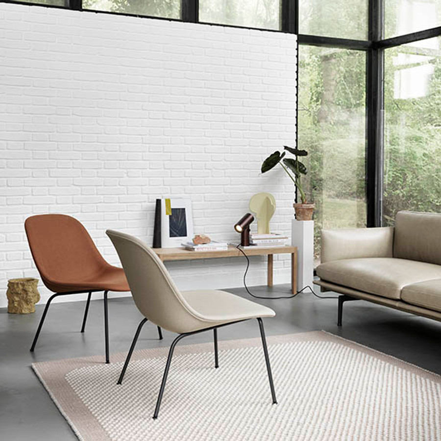 Muuto Fiber Lounge Chair Tube Base