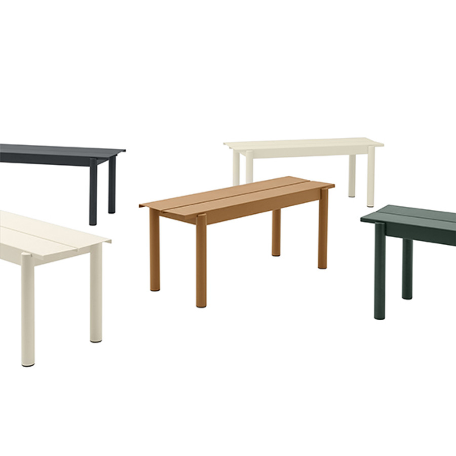 Muuto Linear Steel Benches